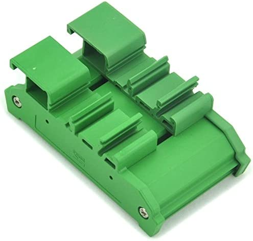 DIN Rail Mount Flat Ribbon Cable 0.1 FRC Connector Interface Module Terminal Block Breakout Board IDC16 2x8Pin