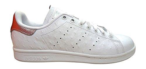 adidas - Zapatillas de Piel para hombre blanco Weiß