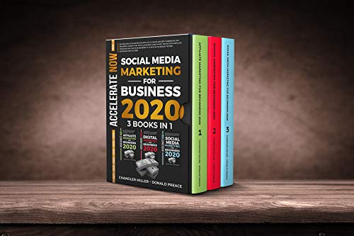 SOCIAL MEDIA MARKETING FOR BUSINESS 2020: Beyond 2019 With The Ultimate Mastery Workbook For Beginners, Make Money Online With Affiliate Program,Use Your ... On Facebook Twitter Instagram Youtube