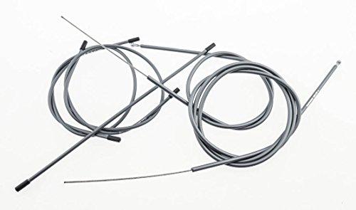 7pc Ultegra OT-SP41 Shimano Road Bike Shift Housing SLR Brake Cable Set Gray (Dura Ace Shifter Cable)