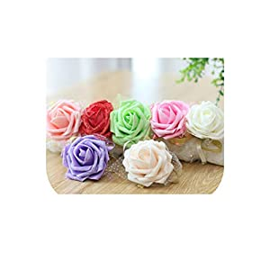 meiguiyuan Wrist Flower Wrist Corsage Bridesmaid Sisters Hand Flowers Artificial Bride Flowers for Wedding Party Decoration Bridal Prom 21