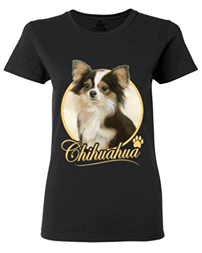 Chihuahua Dog Women's T-Shirt Animal Lovers Shirts