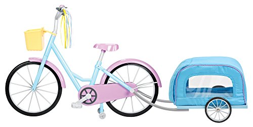 """Kindred Hearts Dolls 18"""" Bicycle With Pet-Trailer (Amazon Exclusive)"""