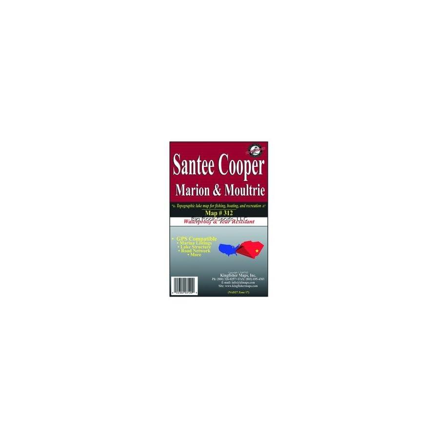 Kingfisher 312 GPS/Contour Map