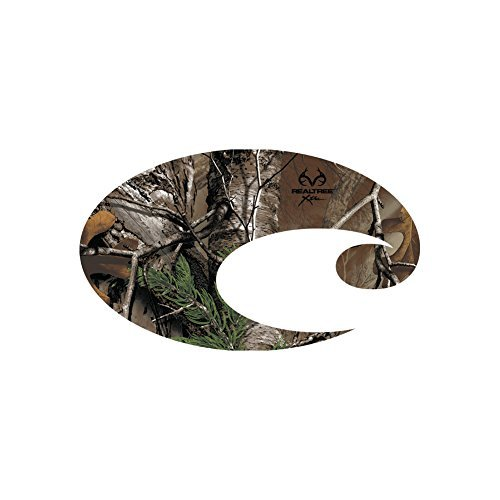 Costa C Decal Large, Realtree Xtra