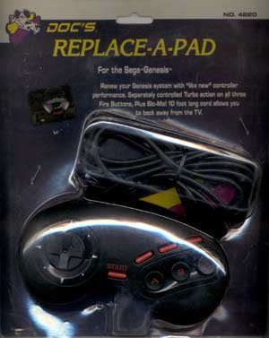 Price comparison product image Doc's Replace-a-pad for Sega Genesis