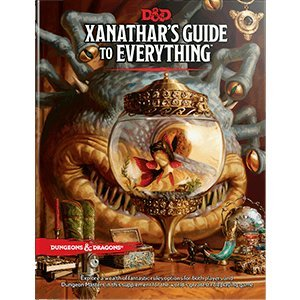 Dungeons   Dragons   Xanathars Guide To Everything 5Th Edition