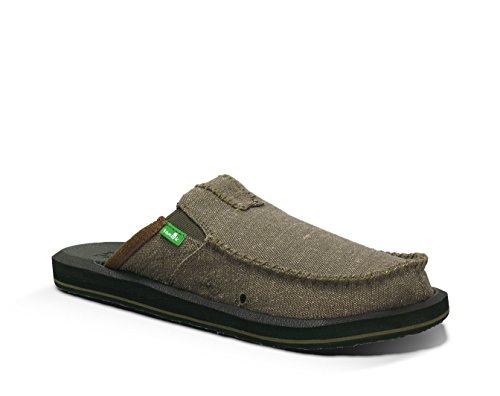 Sanuk Mens You Got My Back II Loafers & Oxy Shoe Cleaner Bundle