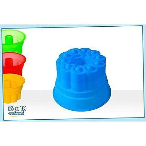 Molde para flan sfornati de silicona 16 x 10,5 cm)