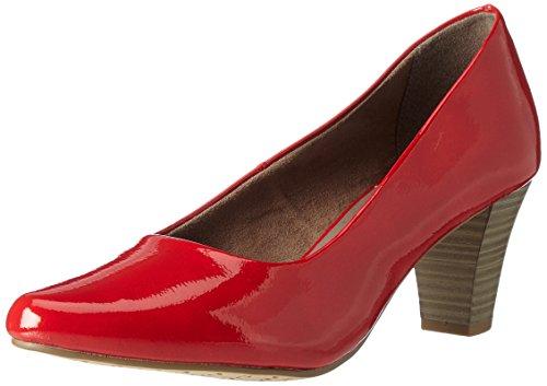 Patent Rouge chili Femme Tamaris Escarpins 22423 RXwYqq7Bz