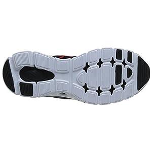 K-Swiss Men's X Lite ST CMF Training Shoe, Black/Fiery Red, 11.5 M US