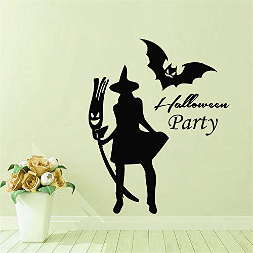 OTTATAT Wall Stickers for Girls 2019,Happy Halloween Home Household Room Mural Decor Decal Removable New Easy to Stick Valentine's Day Club Gift for Bride On Sale