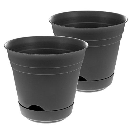 2 Self-Watering Planters Indoor/Outdoor 7