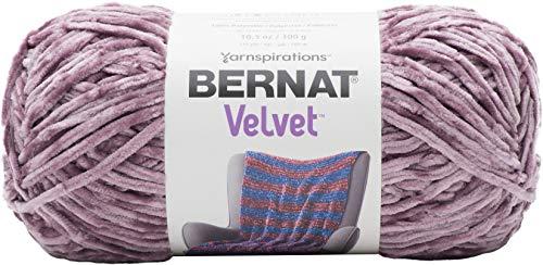 Bernat Velvet Yarn, 10.5 oz, 1 Ball, Shadow Purple ()