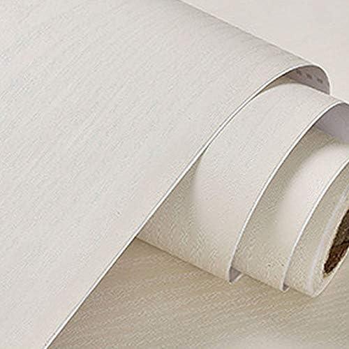 ケイ・ララ 壁紙 木目 白 はがせる [オフホワイト] 幅60cm×10cm単位 壁紙シール ウォールステッカー リメイクシート y3