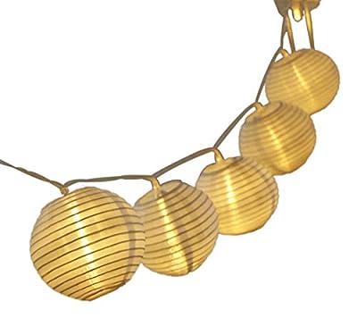 Mini skater Lantern decoration 20 LED Battery Case String Lights Multi Colors 2M Waterproof Global ball string rope outdoor fairy holiday lighting(warm white Lantern)