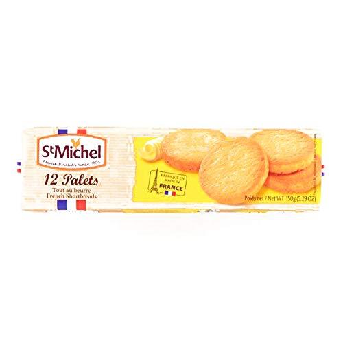 St. Michel Palet Shortbread Cookies 5.29 oz each (3 Items Per Order, not per case) -