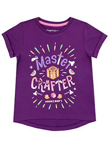 Minecraft Meisjes T-Shirt