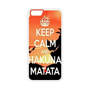 High quality Hakuna Matata Hard Shell Cell Phone Case Cover for For iphone 6 Case 5.5 Inch FKGZ502598