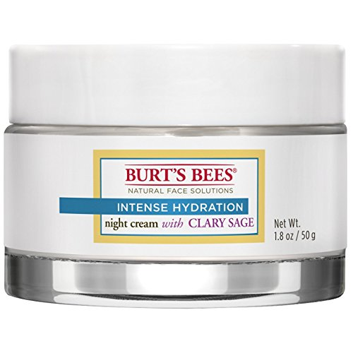 Burt's Bees Intense Hydration Night Cream, 1.8 Ounces Sage Jelly