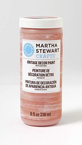 Paint Terra Cotta - Martha Stewart Vintage Decor Matte Chalk Paint: Terracotta, 8 oz