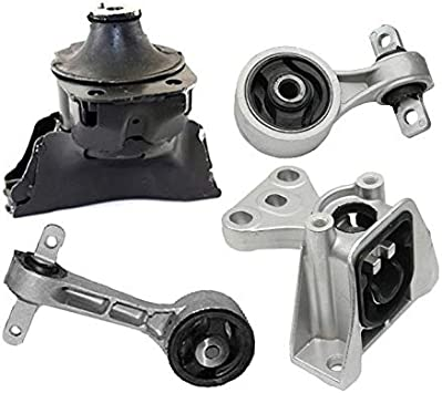 Combo 4 Pcs Engine Mount Set For 2006-2011 Honda Civic 1.8L Manual Standard New