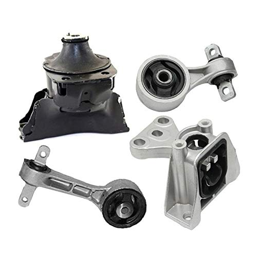 K1473 Fits 2006-2011 Honda Civic 1.8L MANUAL Engine Motor & Trans Mount Set 4pc : A4530 A4547 A4548 A4546