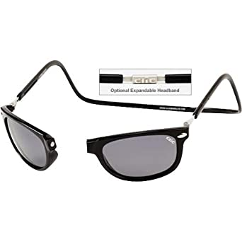 b6cad73df6e Image Unavailable. Image not available for. Color  Clic Sunglasses - Ashbury  Magnetic Black ...