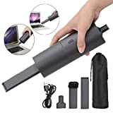 Handheld Vacuum Cordless Vacuum Cleaner (Upgraded Version) Vacuum Cleaner & Blower Cleaner Dual-Purpose, Rechargeable Portable Handheld Mini Vacuum, Easy to Clean Keyboard, Computer, Car, Pet Hair