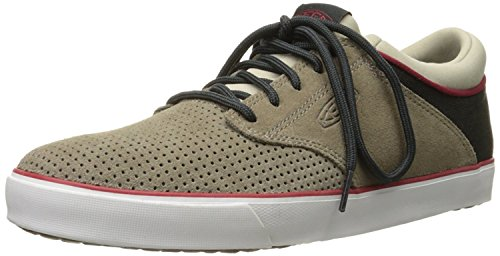 KEEN Mens GHI Lace Perf Suede Shoe, Brindle, 40.5 D(M) EU/7 D(M) UK