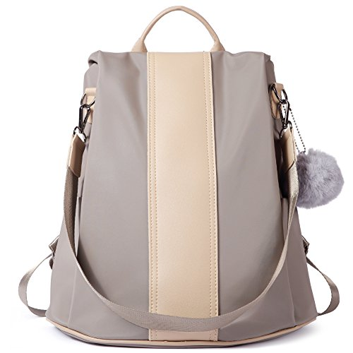Women Backpack Purse Waterproof Nylon Anti-theft Rucksack Ladies Lightweight Fashion School Shoulder Bag