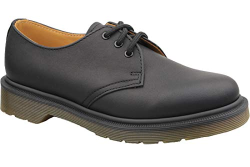 (Dr. Martens - Unisex-Adult 1461 Pw 3 Eye Shoe, Size: 7 D(M) US / 6 F(M) UK / 8 B(M) US, Color: Black Greasy)