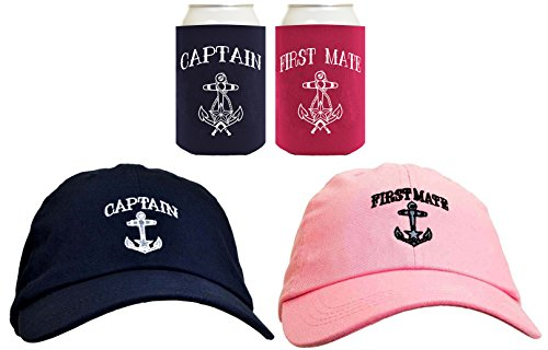 9dd0d330dc4f2 Funny Sailing Captain First Mate Hat Embroidered Cap Funny - Import ...