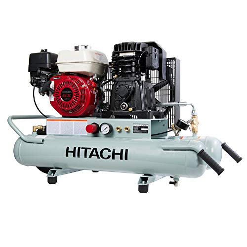 Hitachi EC2610E Gas-Powered Wheeled Portable Air Compressor with Honda Engine, 8 (Hitachi Air Tool Air Compressor)