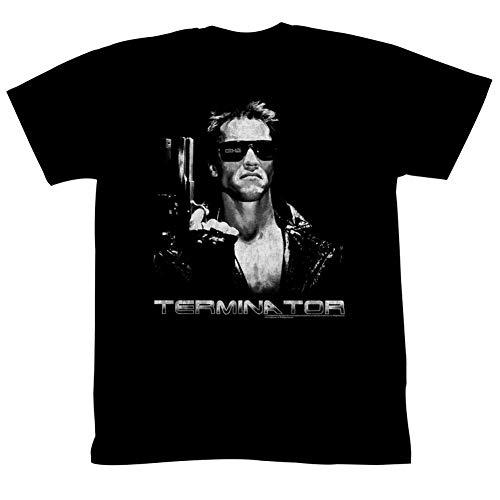 Terminator- Grey Scale T800 T-Shirt Size L