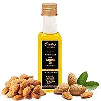 True Oils Naturals Bitter Almond Oil 3.38 fl oz ( 100 ml ) 100 % Pure and Hexane-Free...