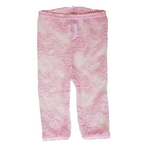 Baby Bella Maya Lacy Leggings, Pink, 6-12m (Bella Footless Tights)