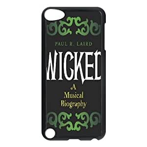 Musical Wicked New Fashion Case for Ipod Touch 5, Popular Musical Wicked Case
