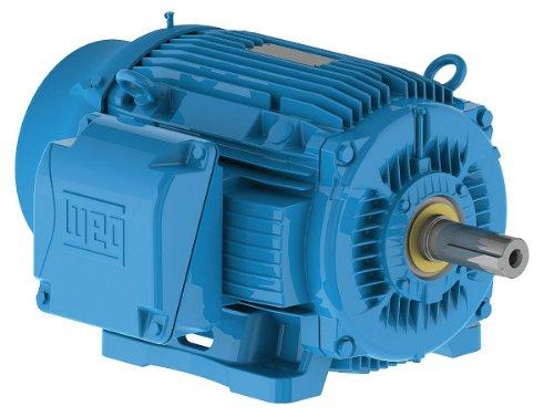 WEG 02018ST3QIERB256T-W NEMA Premium TEFC General Purpose Electric Motor, Cast Iron Frame, 20 HP, 3-Phase, 1765 RPM, 460 V, 50/60 Hz, Frame 256T