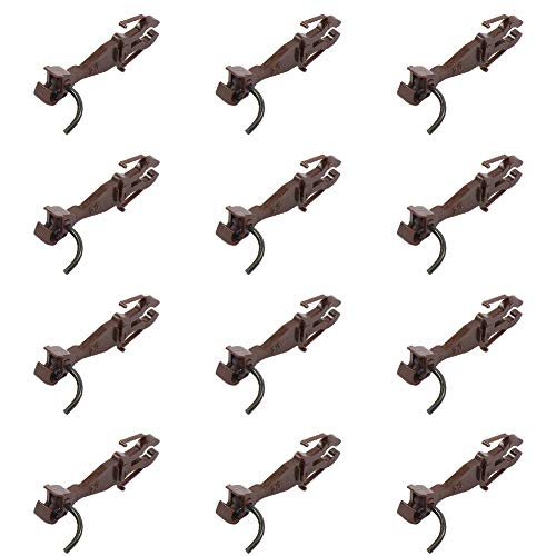 Evemodel HP0987 12pcs Couplers Train ho Scale Knuckle Spring Coupler DIY Accessories Hooks for Freight Car Trains Railroad - Spring Ho Knuckle Scale