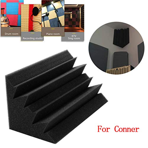 Euone  Soundproof Foam, Acoustic Foam Panel Sound Stop Absorption Sponge Studio KTV Soundproof Place at Corner ()