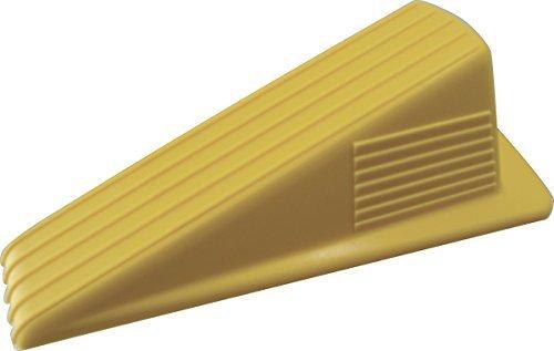 (Shepherd Hardware 3763 Heavy Duty Jumbo Rubber Door Wedge, Yellow by Shepherd Hardware)