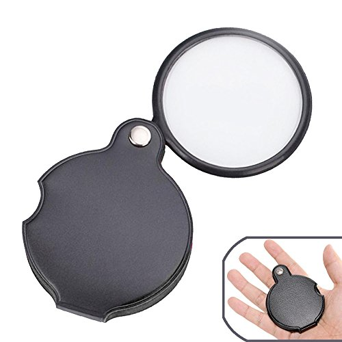 5X Pocket Folding Magnifier by BreaDeep