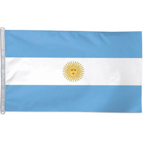 WinCraft Argentina NATIONAL Flag 3x5 NEW 3 x 5 Football Bann