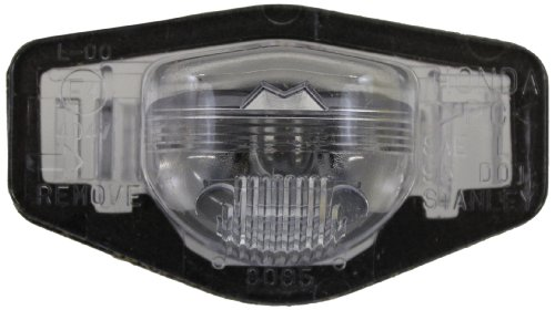 Honda Genuine (34100-S84-A01) License Plate Light Assembly