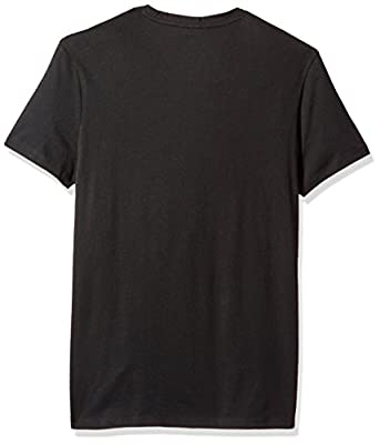 Calvin Klein Men's Short Sleeve Solid Dot Print Graphic V-Neck T-Shirt