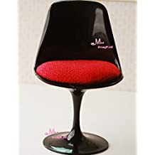 BJD Monster High Dolls Plastic Chair ~ 1/6 Scale Dollhouse Miniature Furniture Girls Barbie Blythe