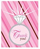 Bridal Shower 'Bride 2 Be Dots' Thank You Notes w/ Envelopes (8ct)