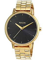 Nixon Womens Kensington A0992042 Gold Stainless-Steel Quartz Watch
