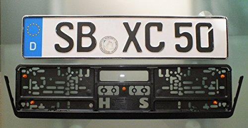 Car View Rear Monitor Backup Safety Camera 8 IR Night Vision US License Plate Frame - City Charm Eyeglasses